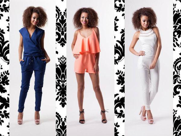 kombinezony, moda, kobieta, lato 2015