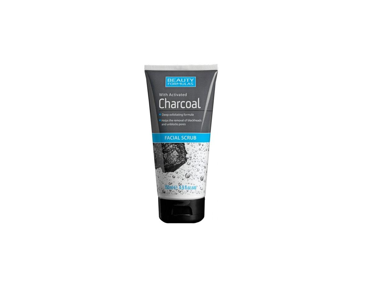 Oczyszczający peeling do twarzy z aktywnym węglem, Beauty Formulas, cena
