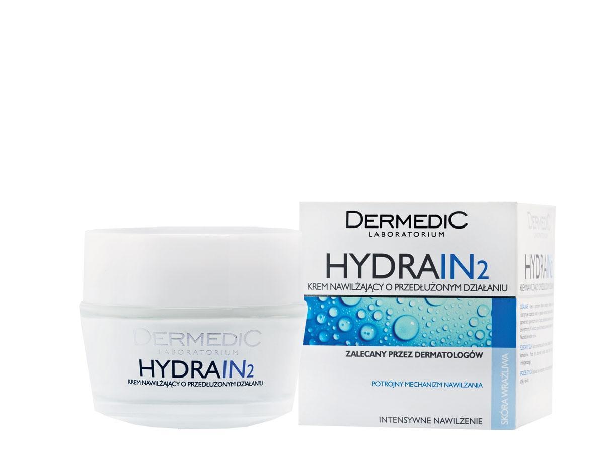 Krem nawilżający o przedłużonym działaniu Hydrain 2, Dermedic, cena