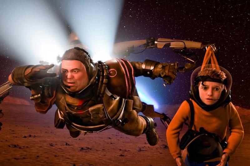 Matki w mackach Marsa (reż. Simon Wells)
