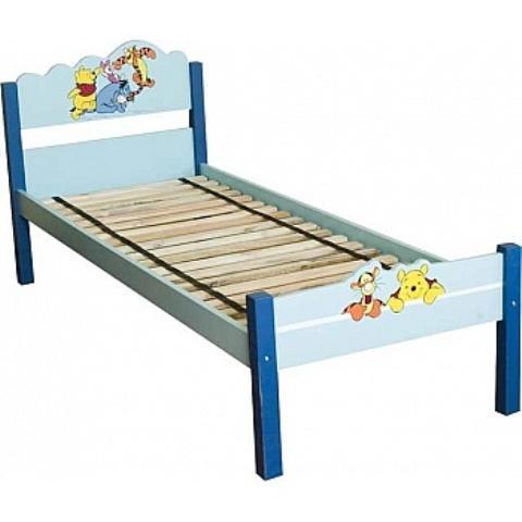 Drewniane łóżko, orientacyjna cena: 630 zł