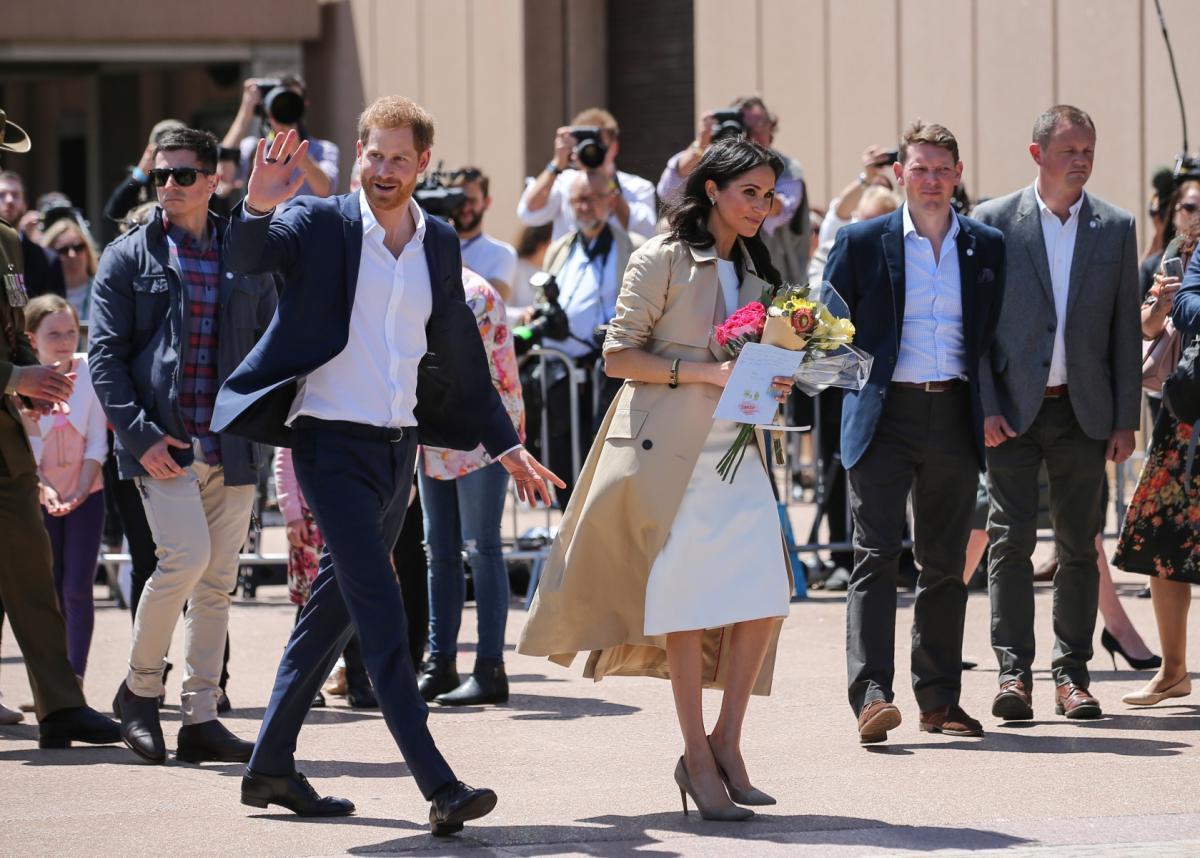 Meghan i Harry z wizytą w Australii