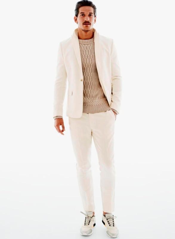 Męska kolekcja H&M - lookbook na wiosnę 2013