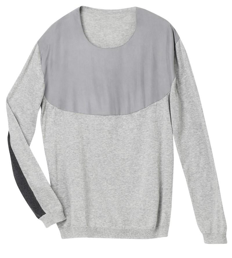 szary sweter H&M - wiosna/lato 2011