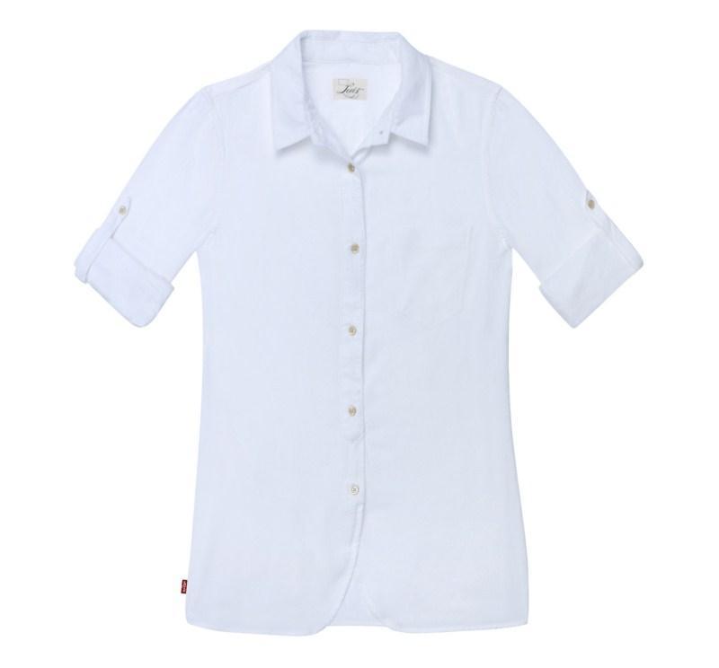biała koszula Levis - wiosna/lato 2011