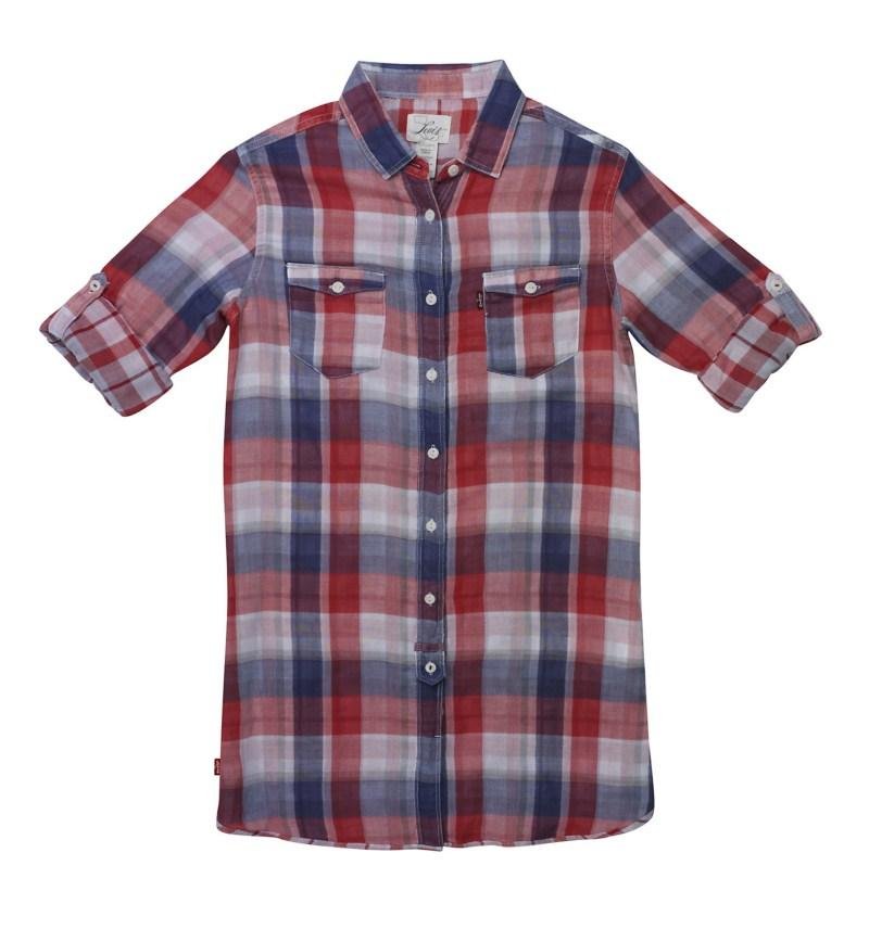 koszula Levis w kratkę - moda 2011