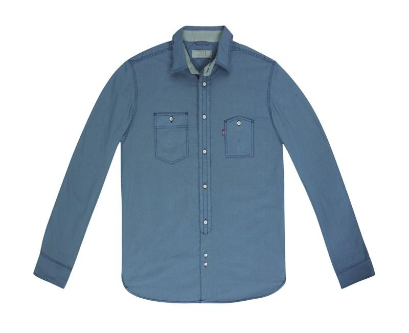 niebieska koszula Levis - z kolekcji wiosna-lato 2011