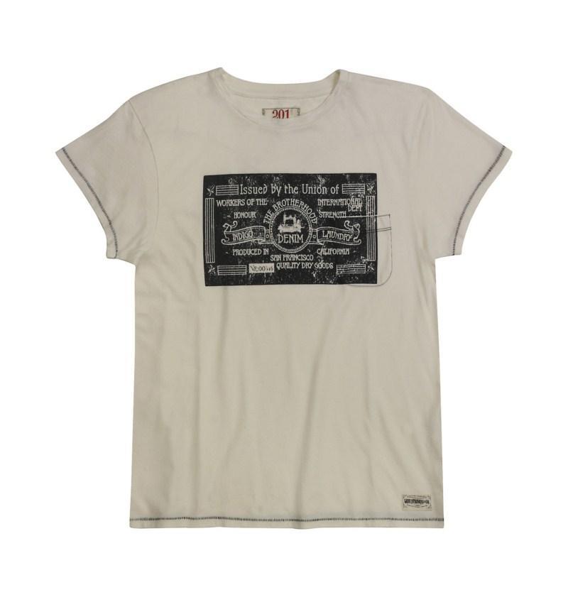 t-shirt Levis z nadrukiem - moda 2011