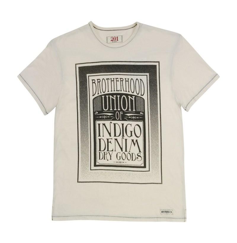 biały t-shirt Levis z aplikacją - lato 2011