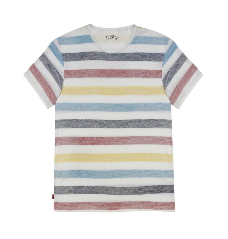 koszulka Levis w paski - moda wiosna/lato