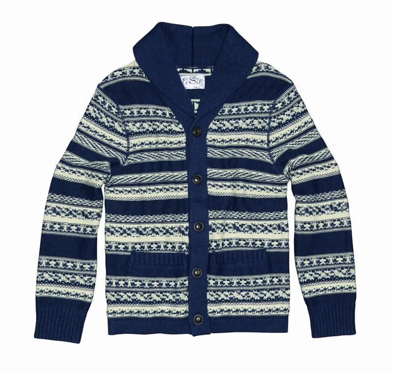 sweter Levis we wzory - sezon wiosenno-letni