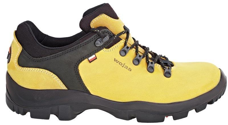 żółte trapery Wojas - moda wiosna/lato