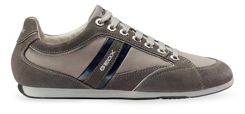 szare obuwie sportowe Geox - wiosna/lato 2012