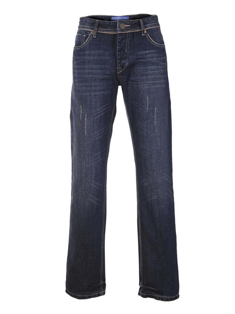 granatowe dżinsy Top Secret - z kolekcji wiosna-lato 2011