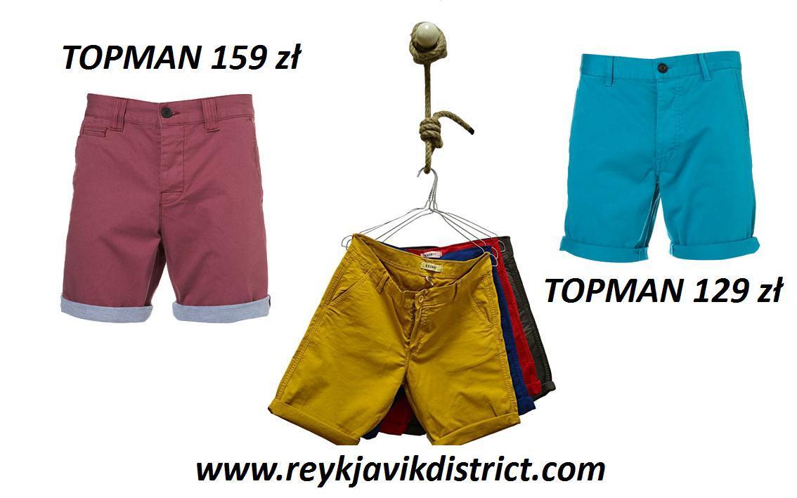 Męskie szorty na lato 2012 - przegląd