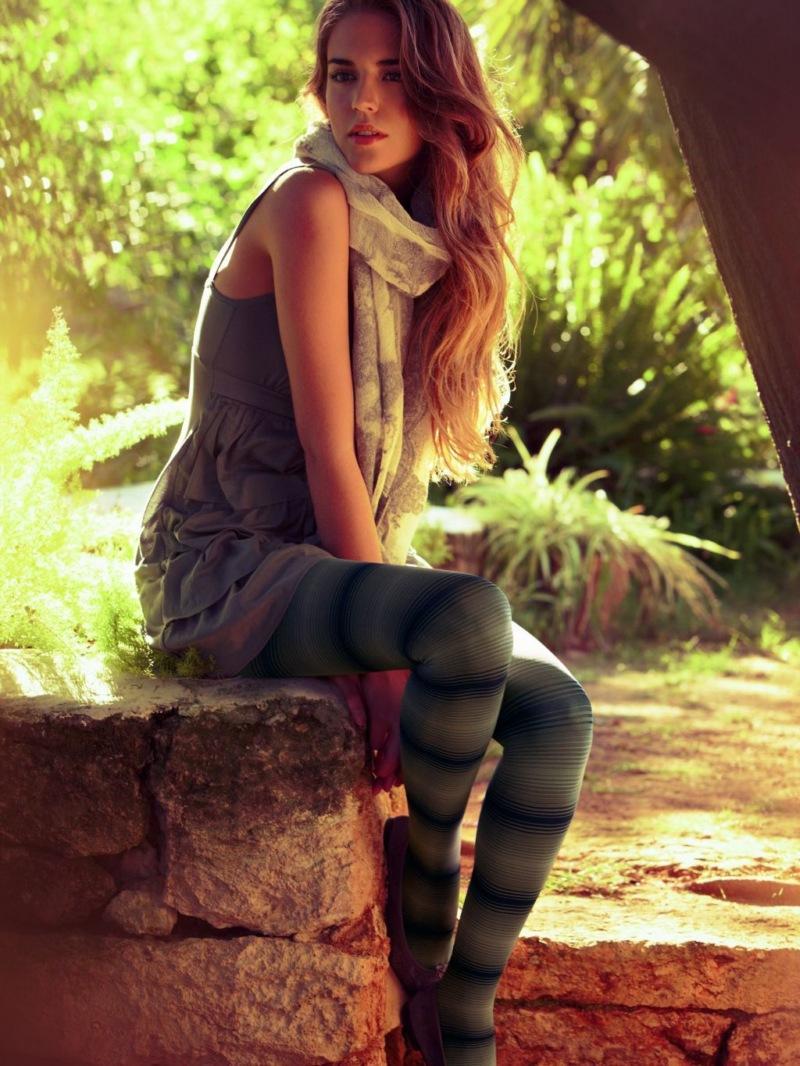 rajstopy Calzedonia - moda 2011
