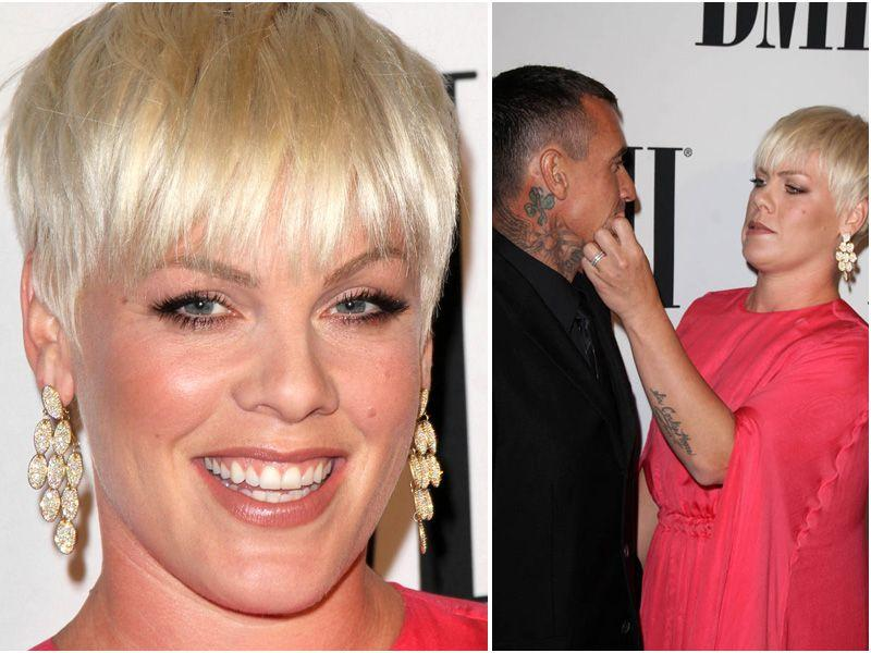 Pink i Carey Hart na BMI Pop Awards