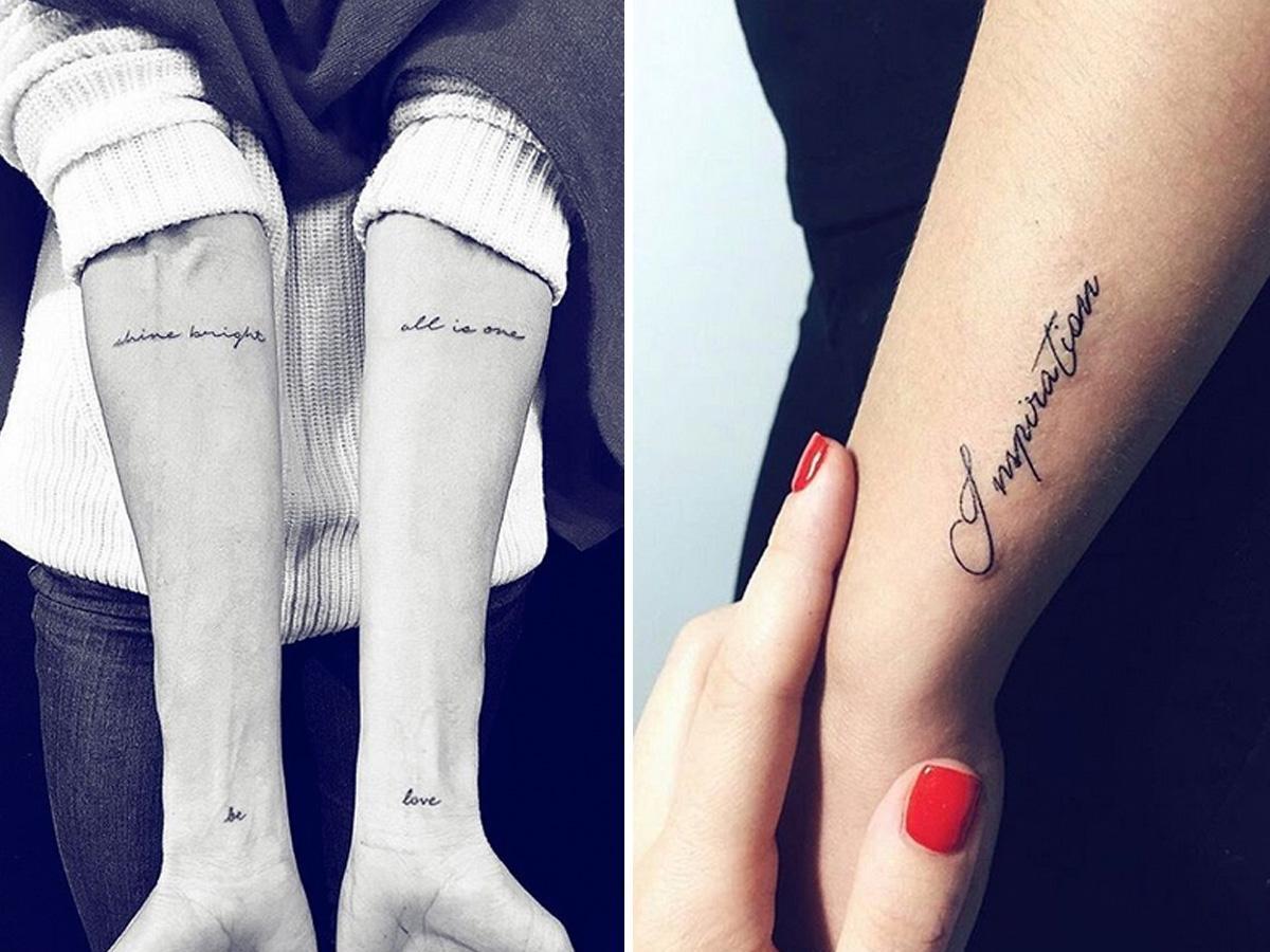 Małe Tatuaże 8 Najpiękniejszych Wzorów Dla Kobiet
