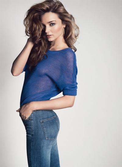 Miranda Kerr Mango wiosna 2013