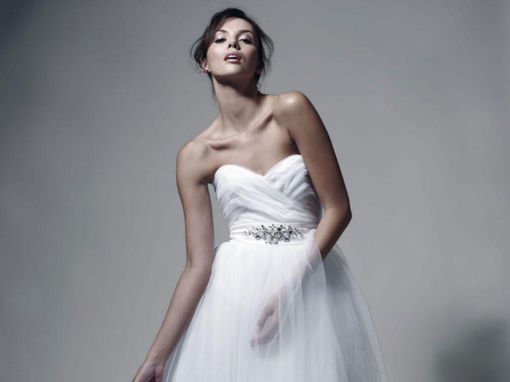 suknia ślubna Zień z aplikacją Paulina Krupińska