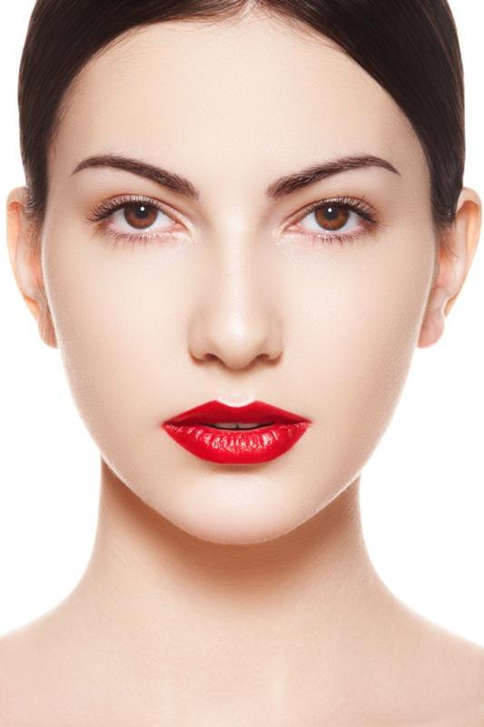 Mocne usta - czerwień