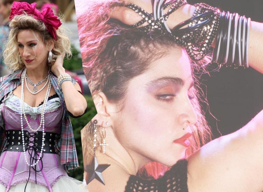Madonna, Sarah Jessica Parker, lata 80.