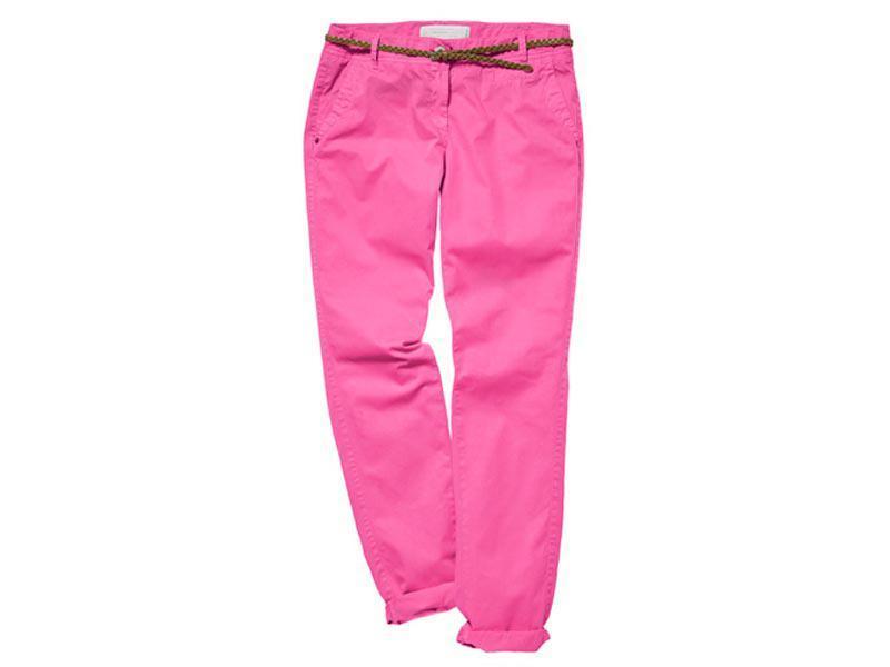 kolorowe spodnie, dżinsy wiosna 2012