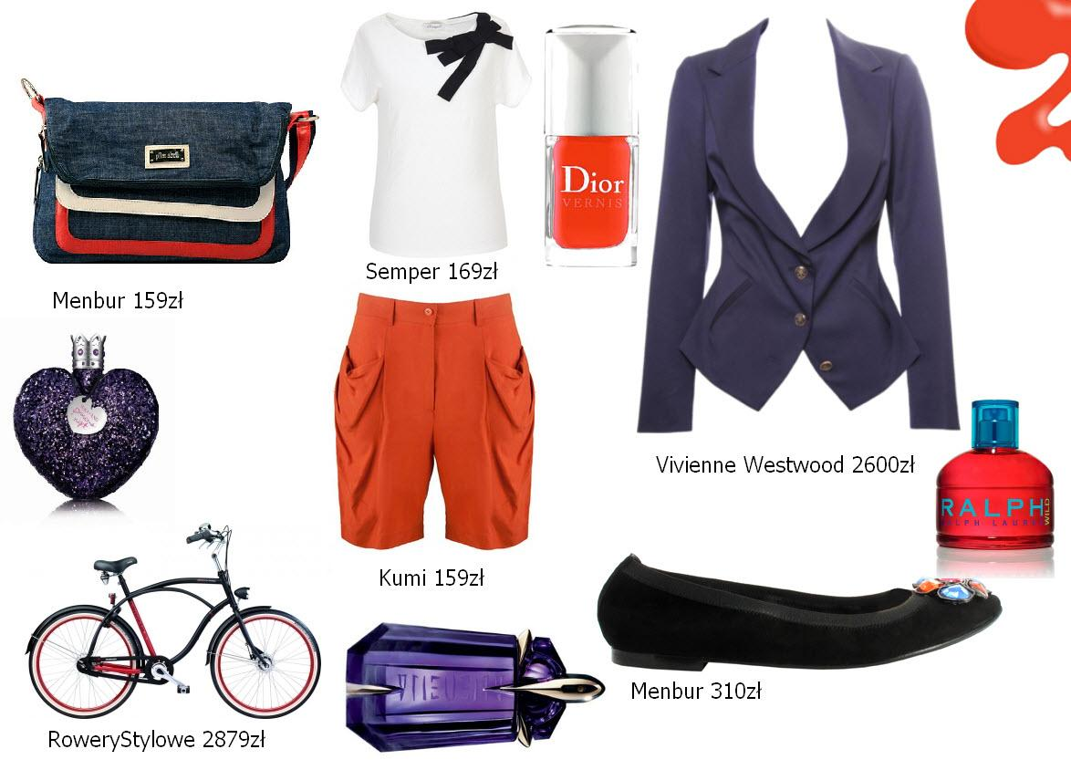 Moda rowerowa - cycle chic - stylizacje