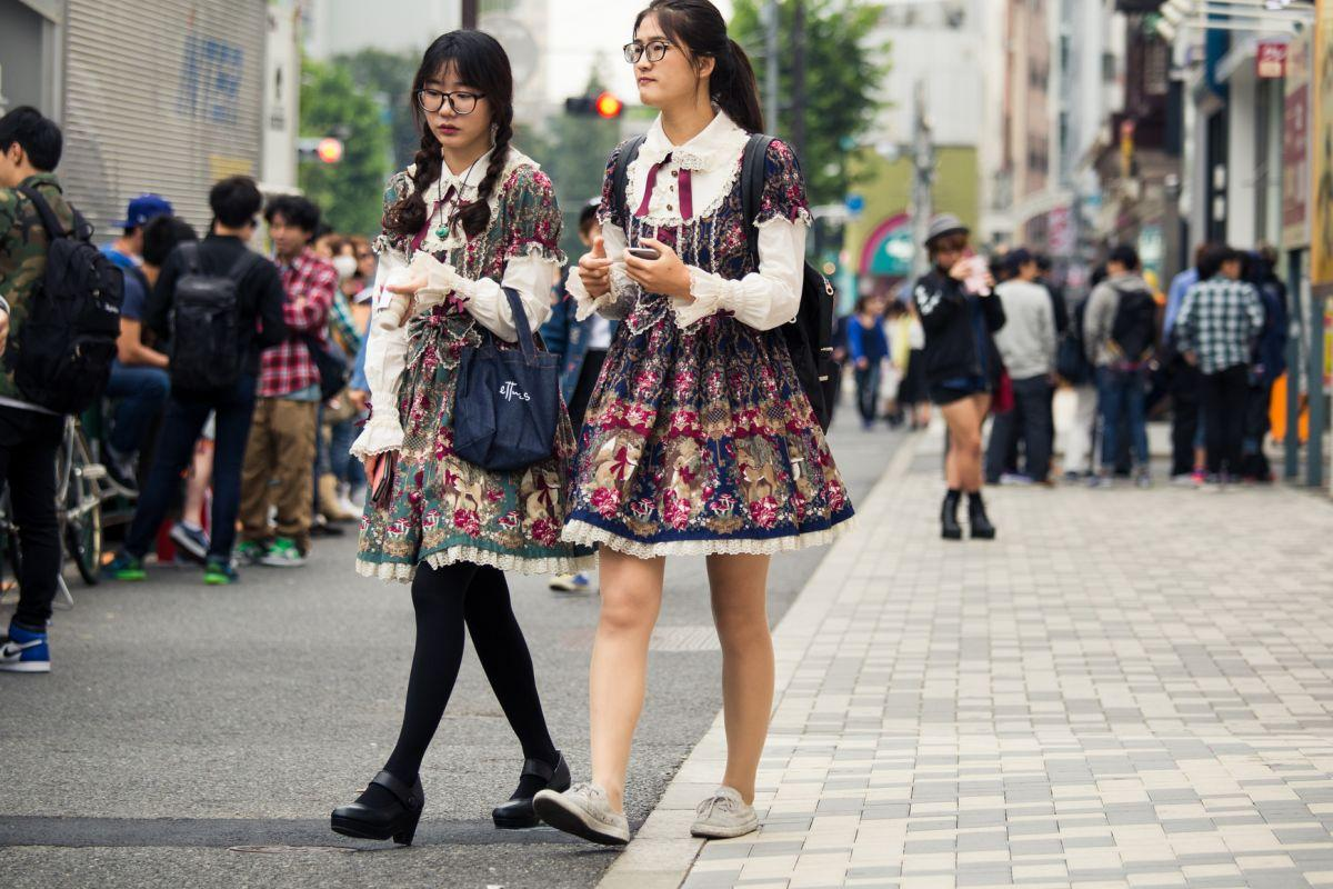 Moda uliczna - zobaczcie jak wygląda styl ulic Tokio