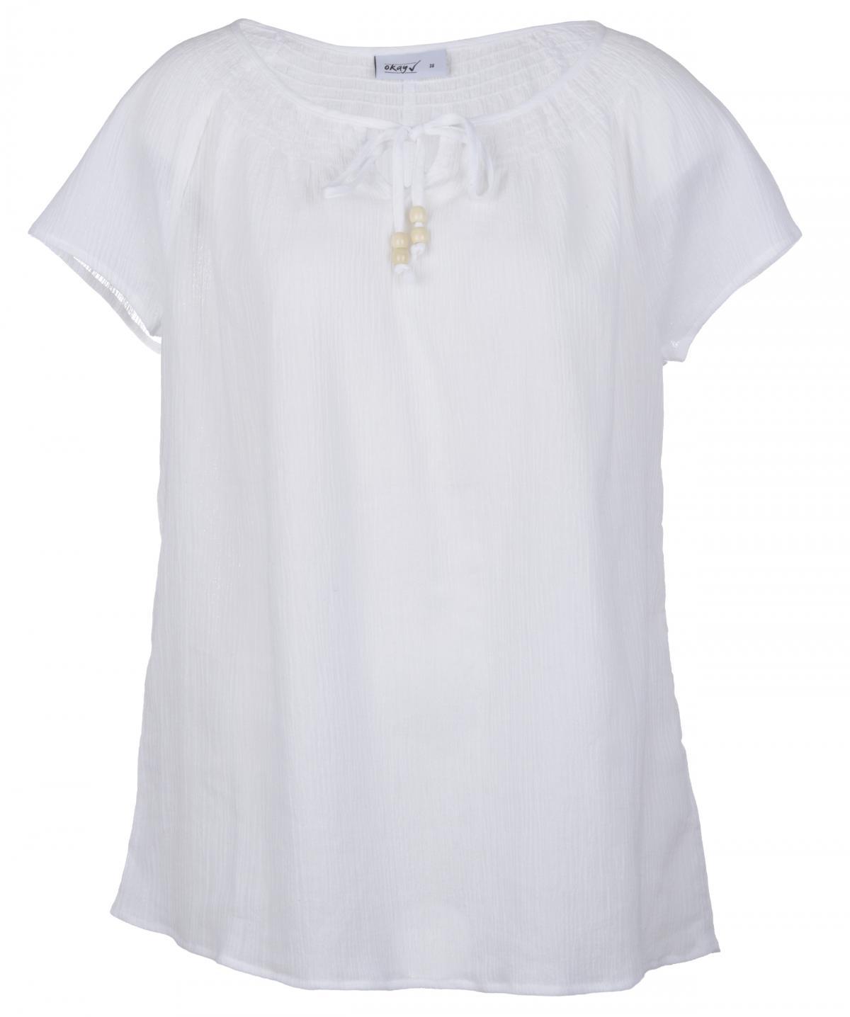 biała bluzeczka KiK - trendy na lato