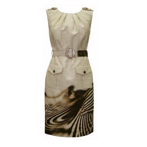 fe9fde2e0e kolorowa sukienka Modesta z paskiem - lato 2011 - Modesta - sukienki ...