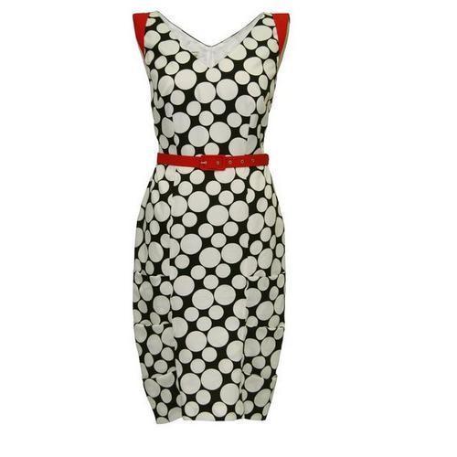 443edb4d5d kolorowa sukienka Modesta w kropki - lato 2011 - Modesta - sukienki ...