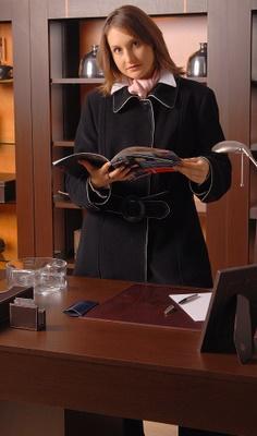 Modna bizneswoman - zdjęcie