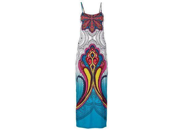 Długa sukienka plażowa, Bonprix, cena: 119,99 zł.