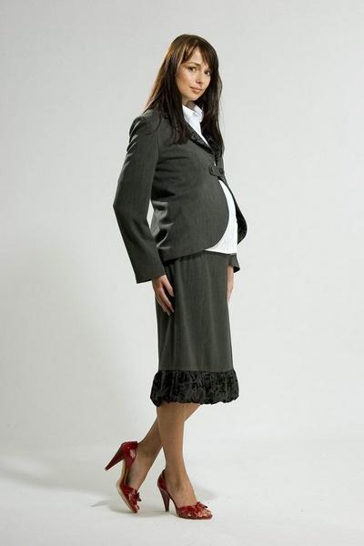 Modna odzież ciążowa firmy LUCIJA - zdjęcie