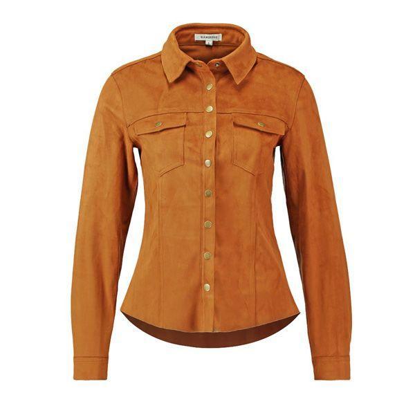 Kamelowa koszula Glamorous, cena