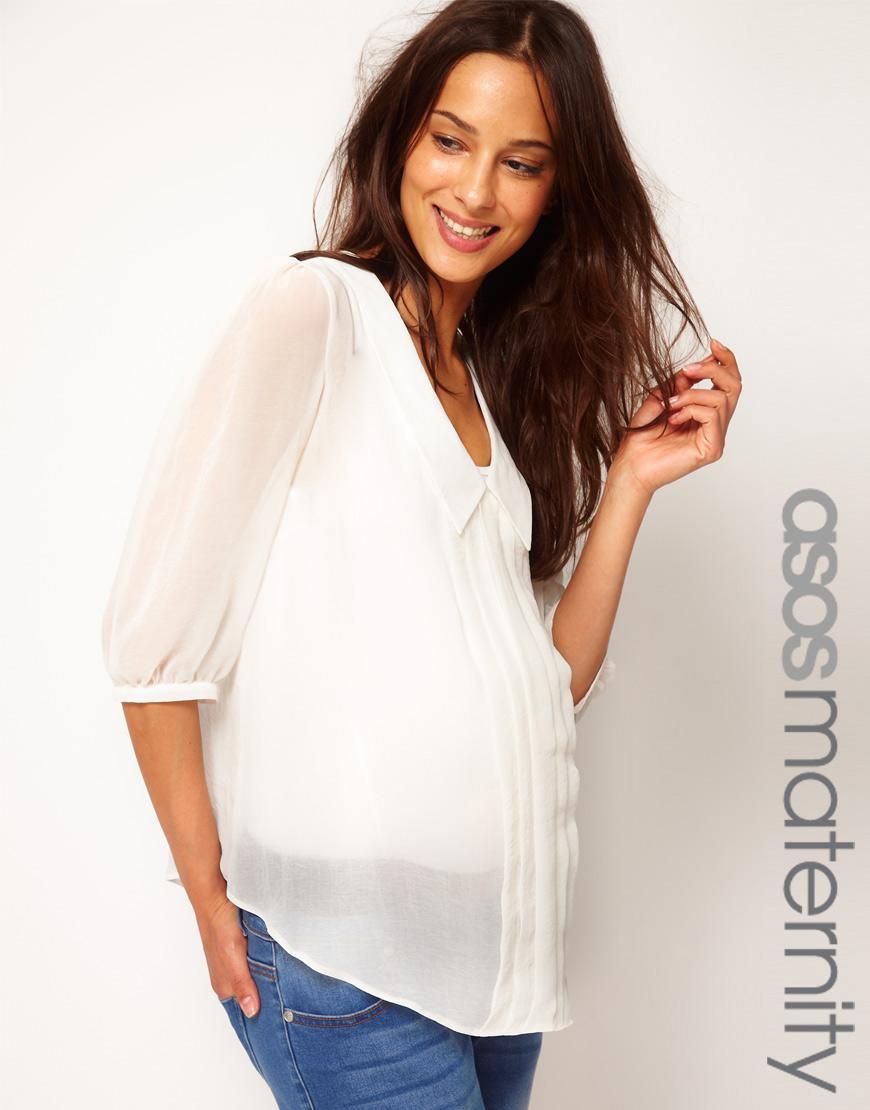 Modna w ciąży - kolekcja ciążowa z butiku Asos