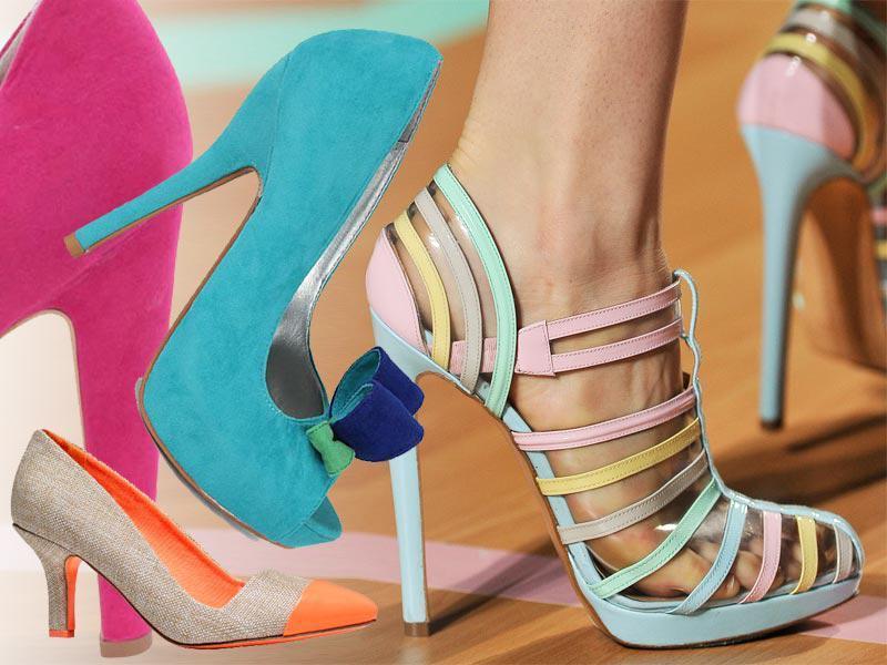 modne buty na wiosnę 2012