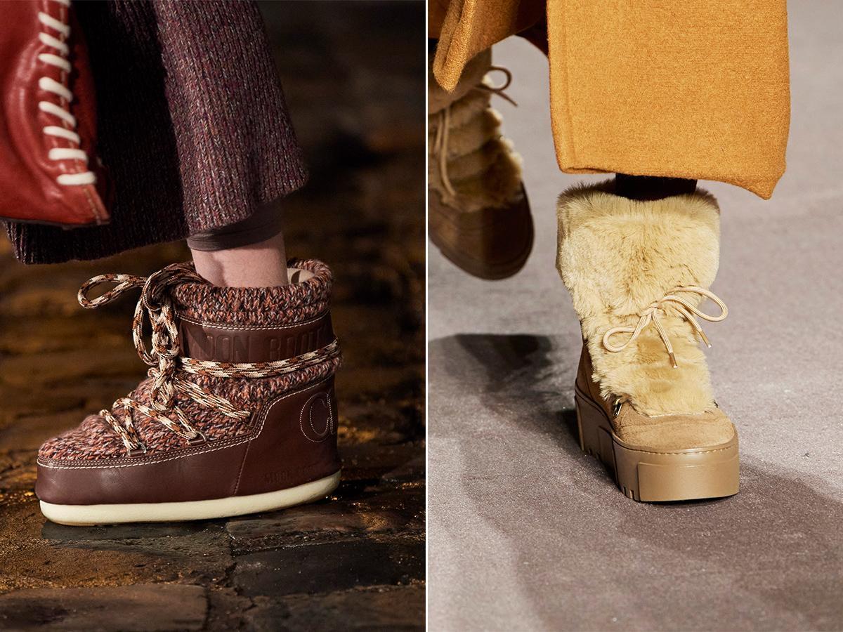 buty z futrem jesień zima 2021 2022