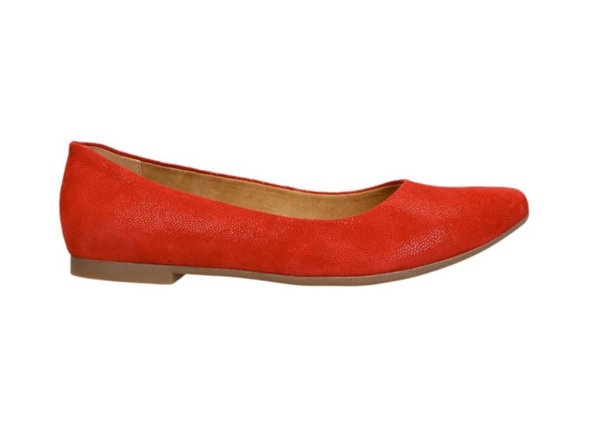 1bb008b6 Czerwone baleriny CCC, cena, ok. 119,99 zł - Baleriny CCC - kolekcja ...