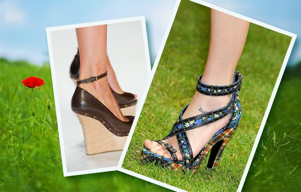 modne buty, wiosna lato 2011