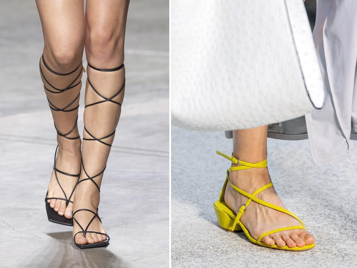 modne buty wiosna lato 2020 rzymianki