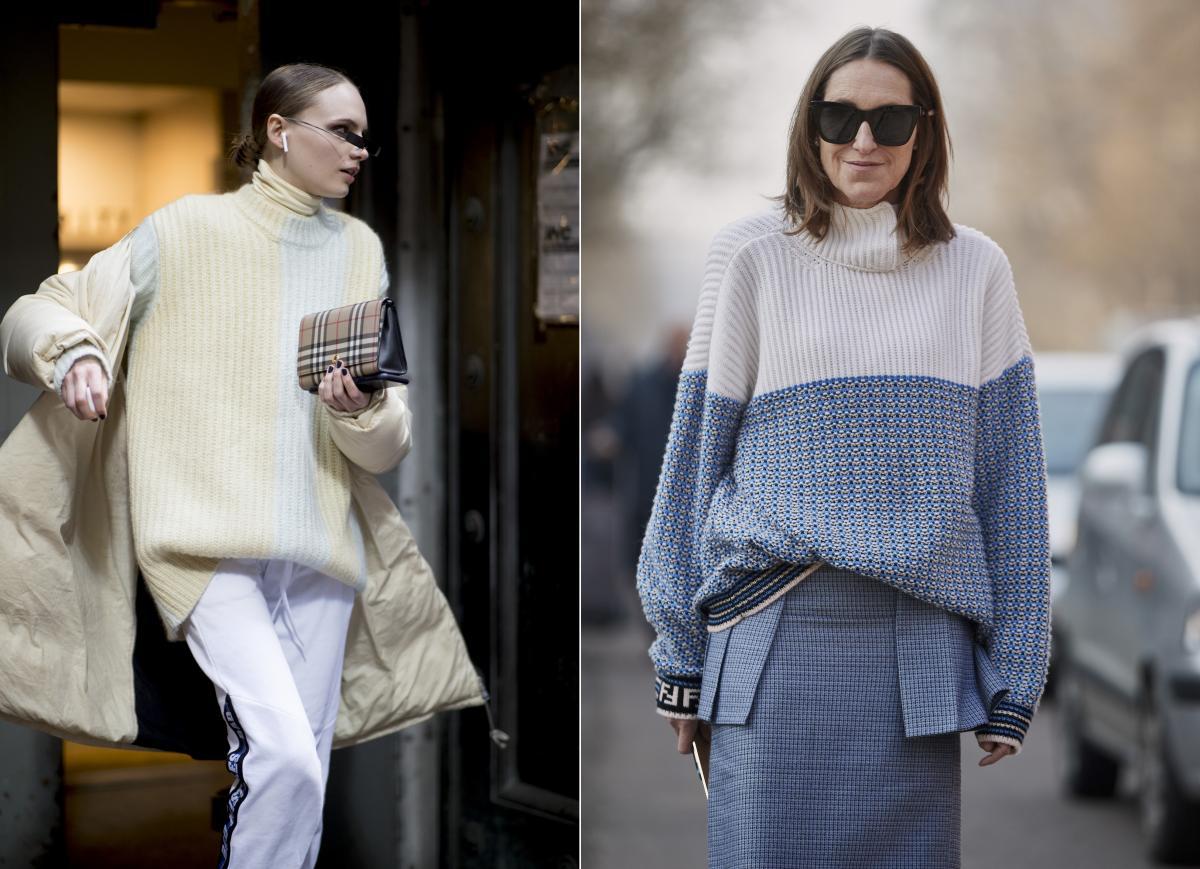 Długi sweter 2019/2020