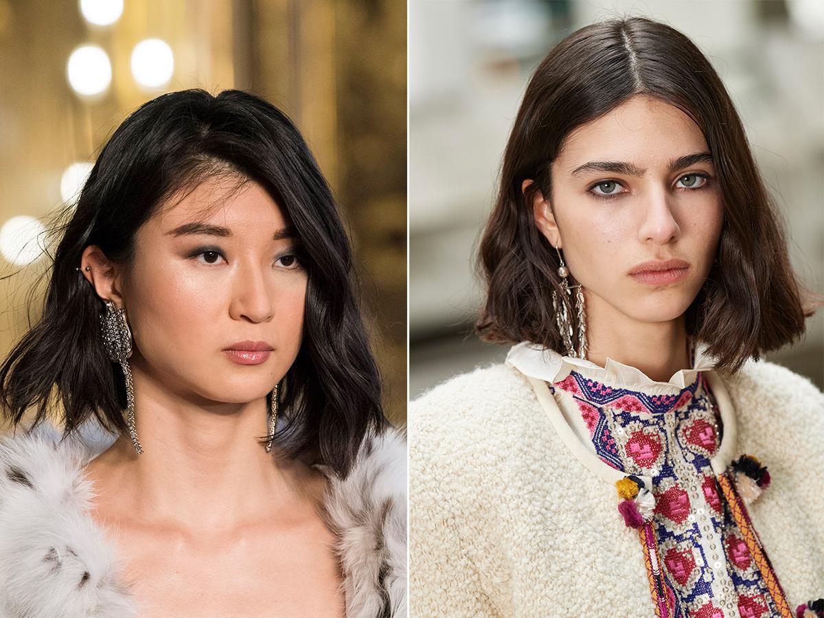 modna długość włosów jesień zima 2021 2022