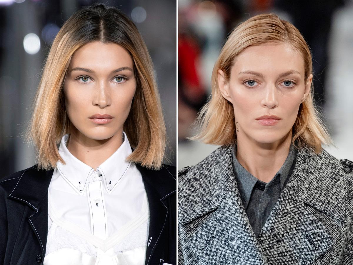 Krótkie fryzury 2020 proste włosy