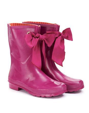 Modne kalosze i gumowe buty