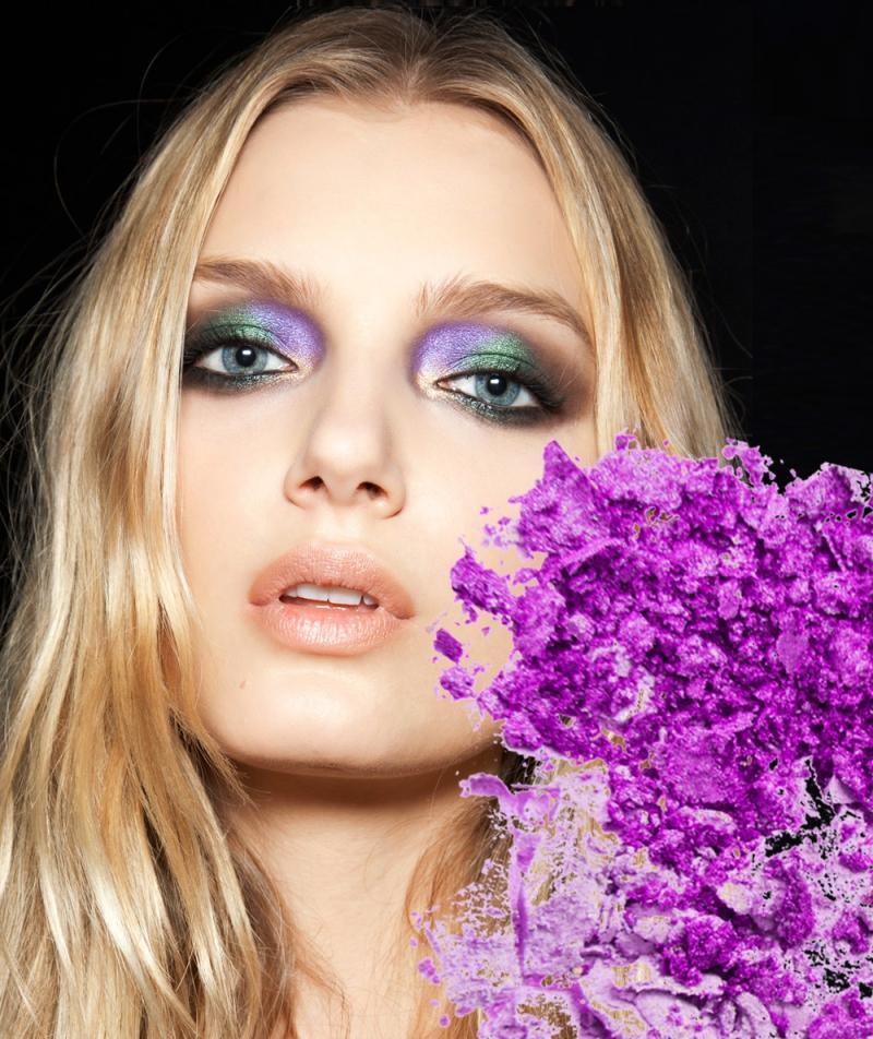 Modne cienie do powiek jesień 2012: Magiczny fiolet