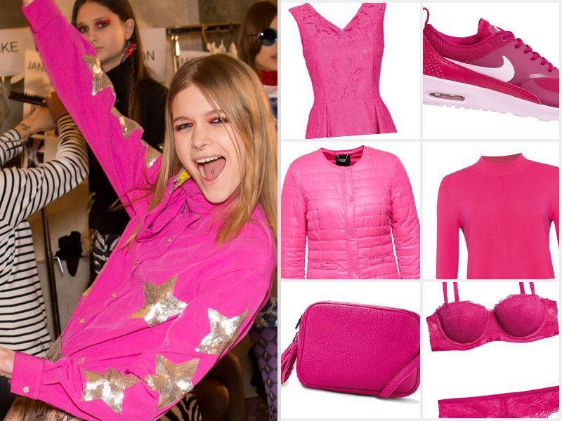 9cdea8cdd1 Różowe ubrania i dodatki - Modne ubrania jesień 2015 - Trendy sezonu ...
