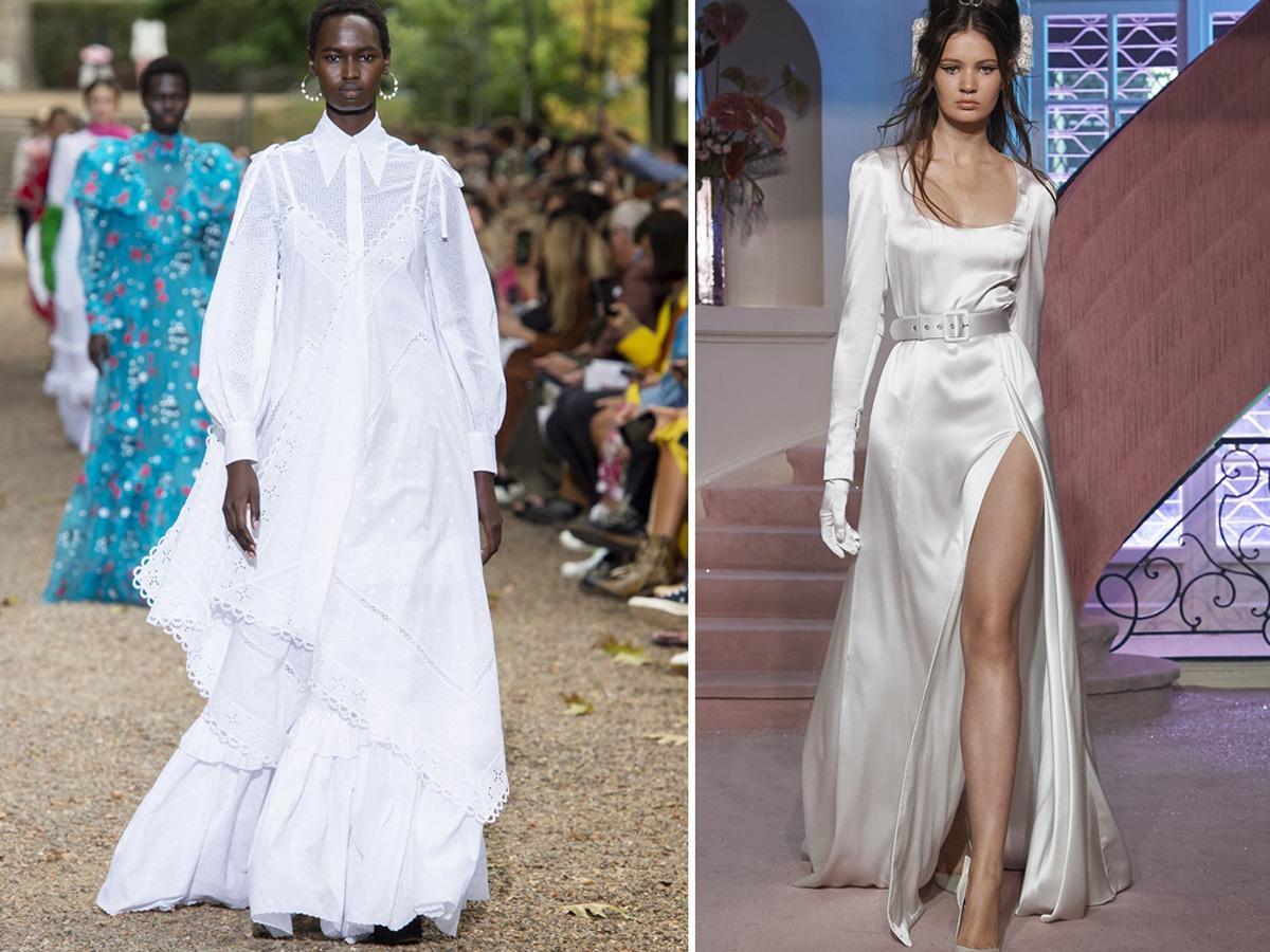 modne kolory wiosna lato 2020 biały