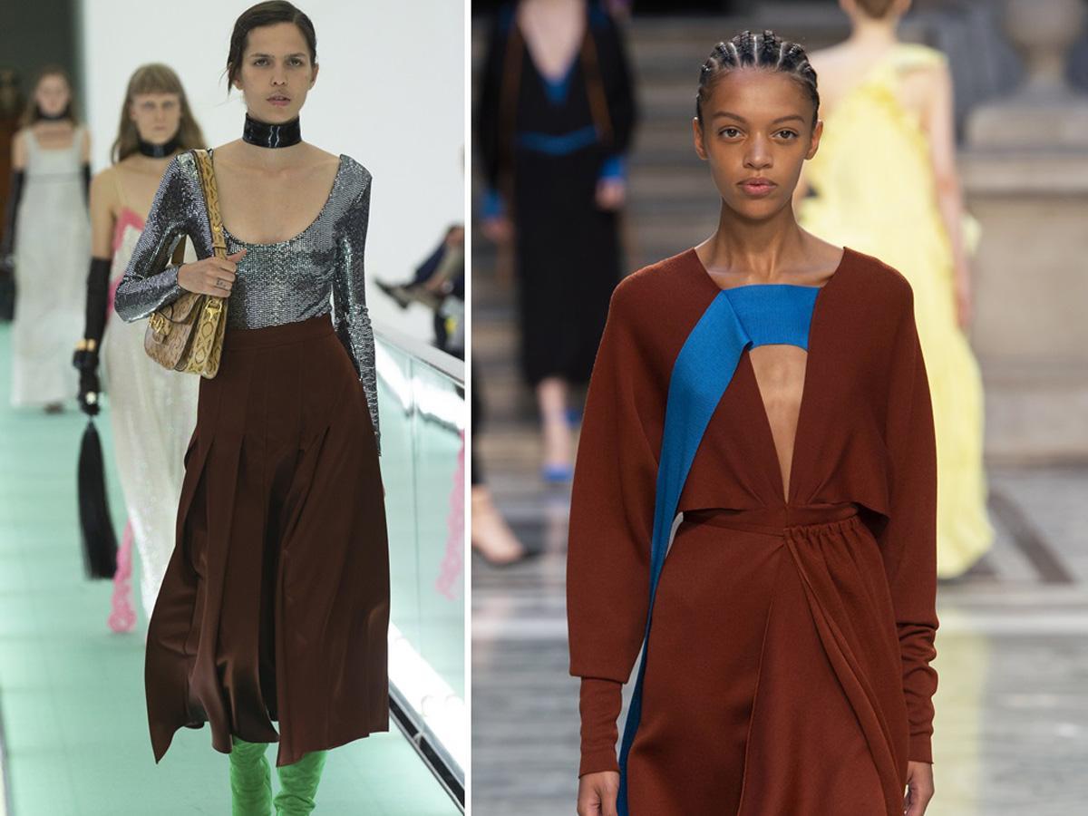modne kolory wiosna lato 2020 brązowy
